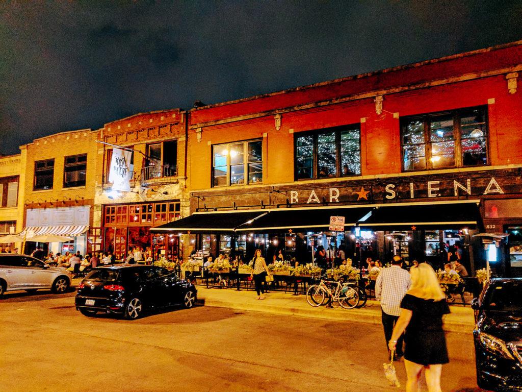 Randolph St in Chicago