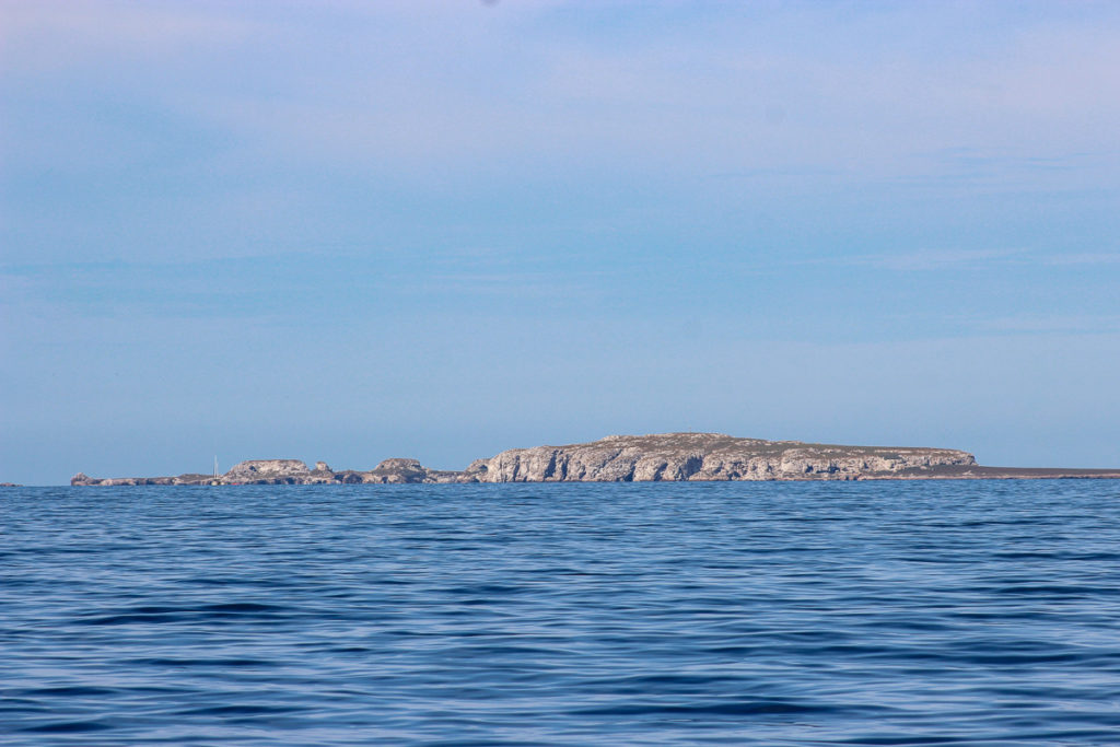 Approaching las Islas Marietas in the Bay of Banderas by boat