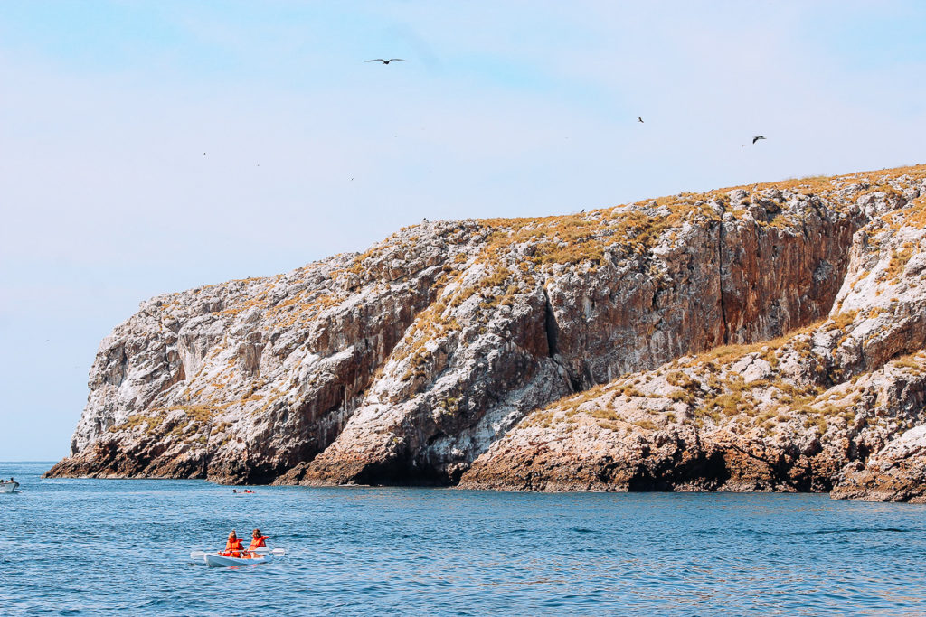 Kayaker enjoys Islas Marietas