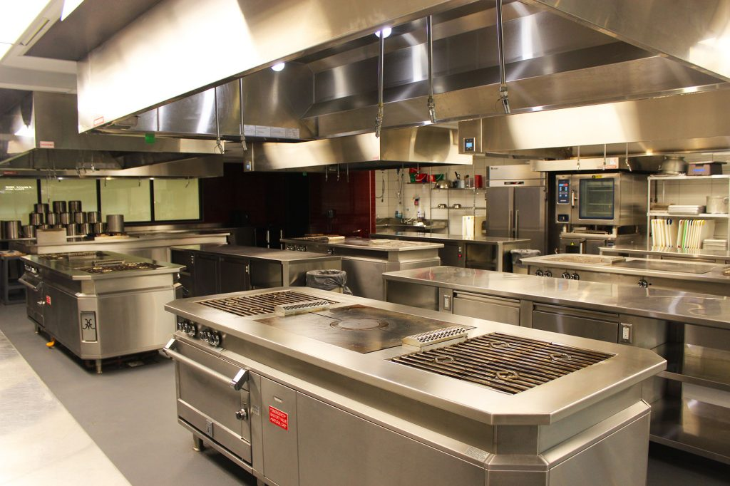 One of the kitchen'a at Brightwater