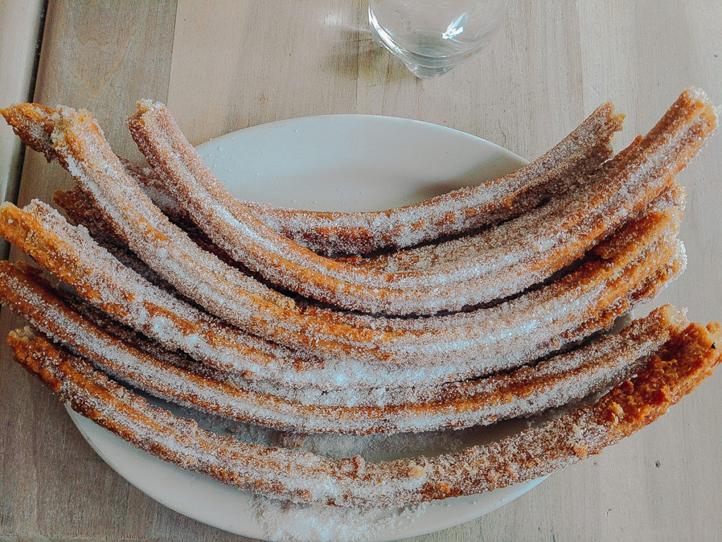photo of churros from El Moro Churreria Mexico City thing to do