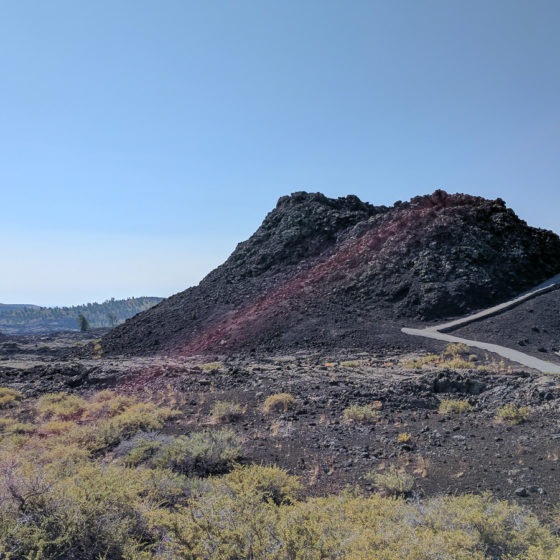 cinder cone at Craters of the Moon National Monument and Preserve