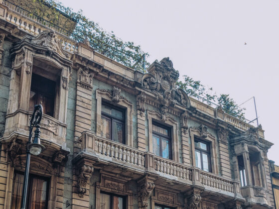 Historic Building in Mexico City