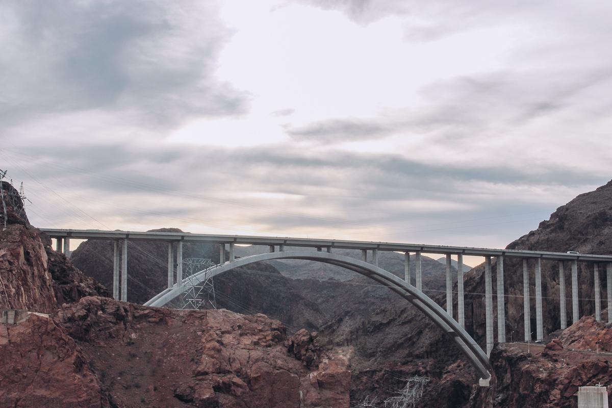 The vithe Mike O'Callaghan-Pat Tillman Bridge