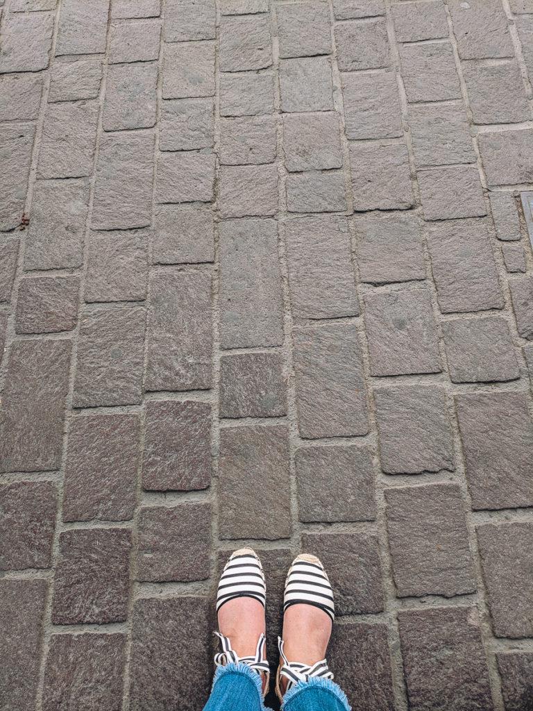 Cobblestone Sidewalks of Gdl