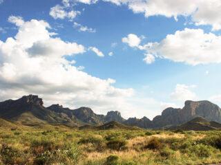 Chisos Mountains Big Bend National Park