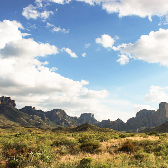 Chisos Mountains Big Bend National Park