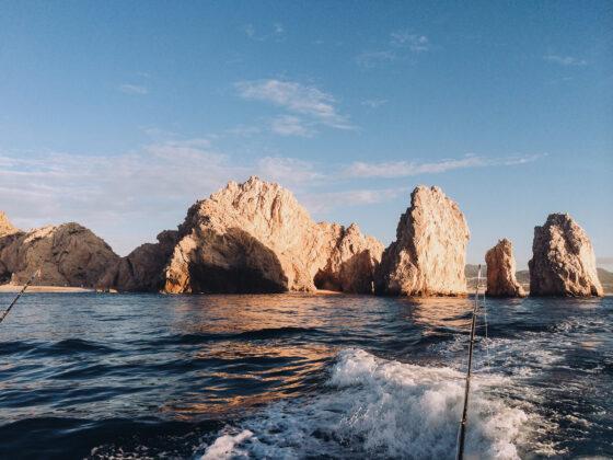 Deep sea fishing in Cabo