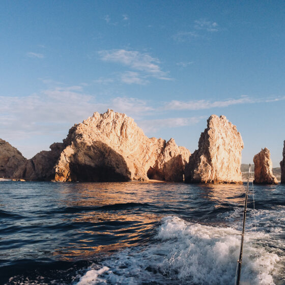 Deep sea fishing in Cabo