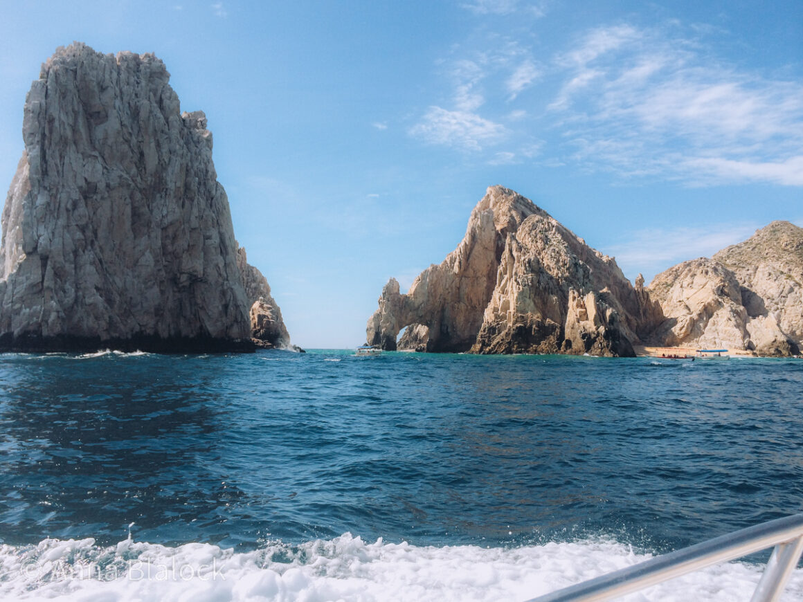 The beautiful Arch of Cabo San Lucas at Land's End, Baja Sur