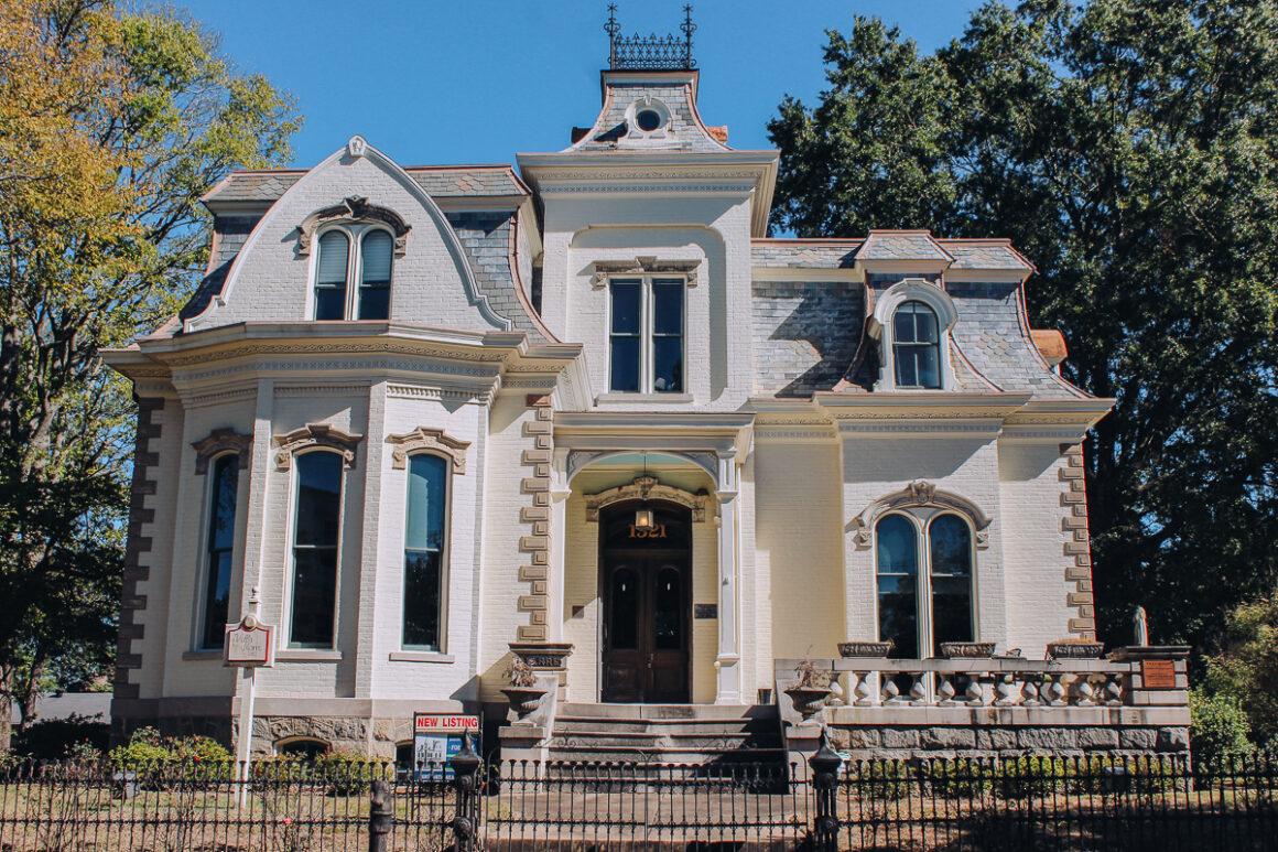 "The ""Designing Women"" house in Little Rock, Arkansas"