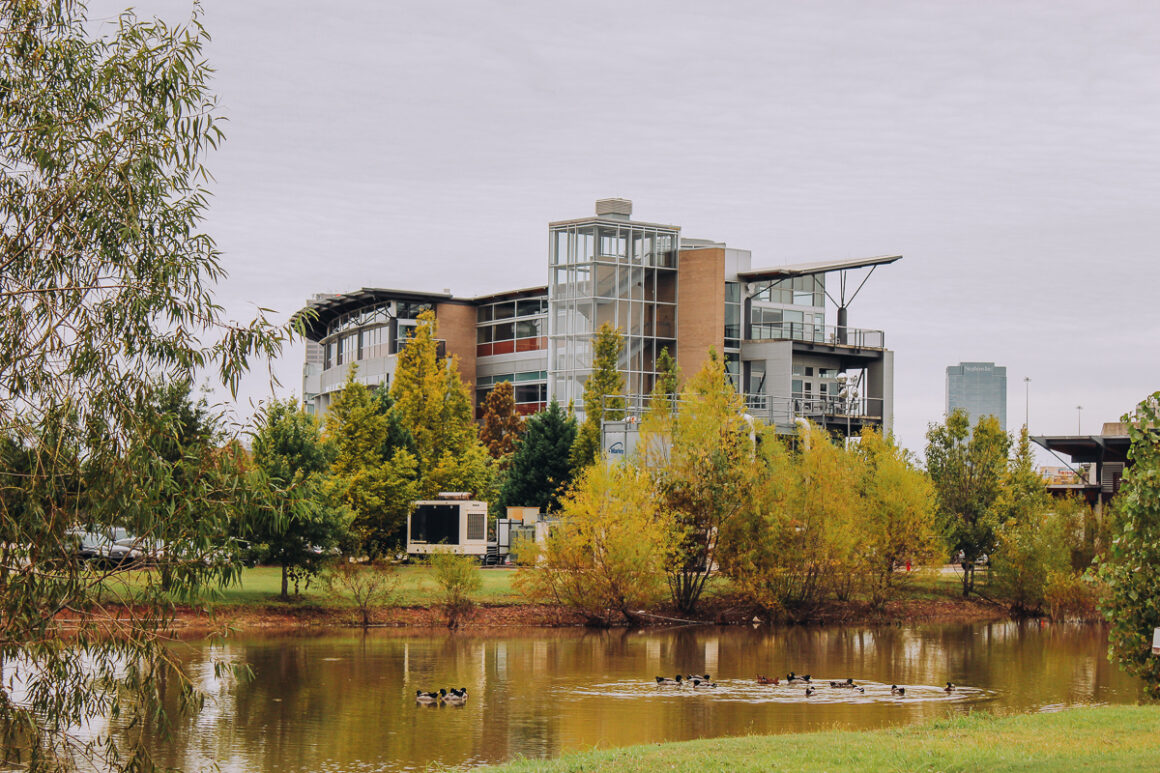 Heifer International building headquarters in Little Rock, Arkansas