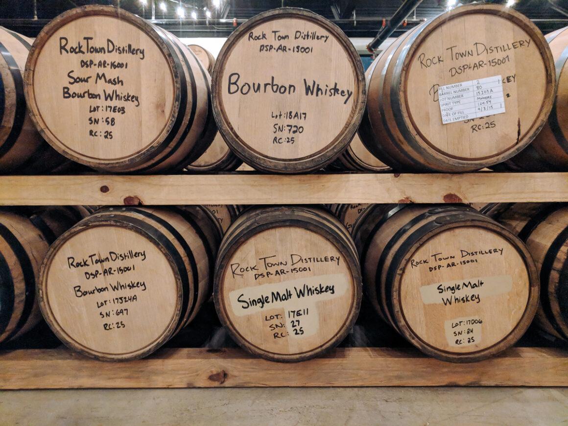 Barrels at Rock Town Distillery Little Rock