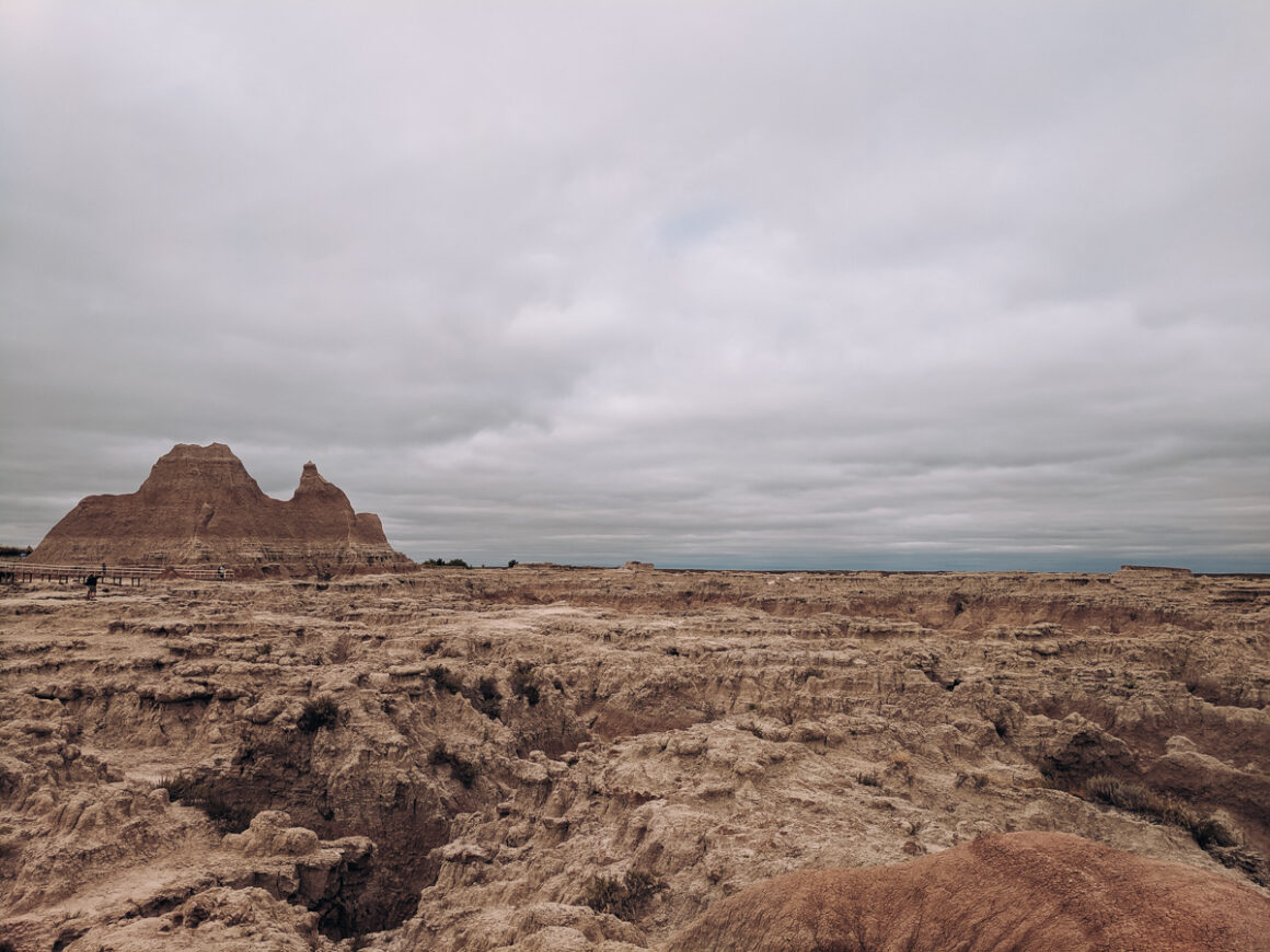 view at the Doors trail, Badlands National Park a great park to visit when you are short on time
