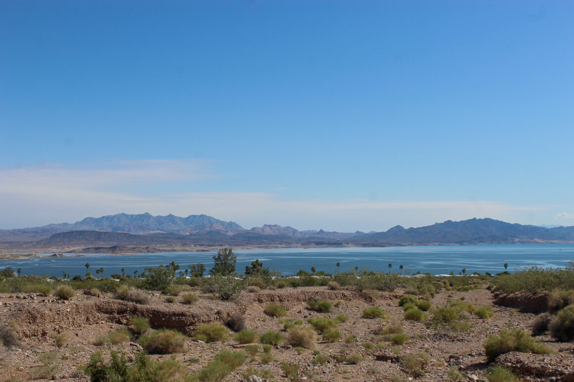 A view of Lake Mead and Boulder Beach, one of the best things to do off the Las Vegas strip