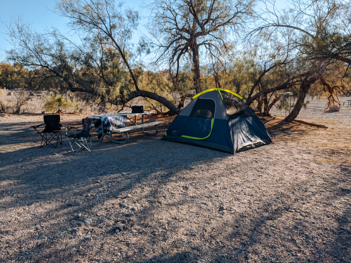 Furnace Creek Campground at Death Valley National Park
